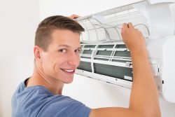 Energy Assessor and A/C Unit